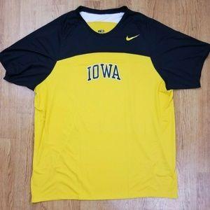 Iowa Hawkeyes Nike Dri Fit Top Shirt Jersey NEW 36